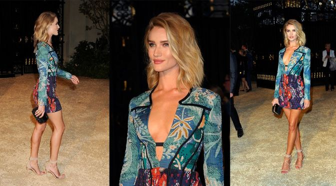 """Rosie Huntington-Whiteley – """"London in Los Angeles"""" Event in Los Angeles"""