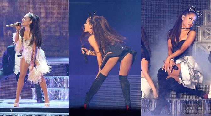 "Ariana Grande – ""The Honeymoon Tour"" in Milan"