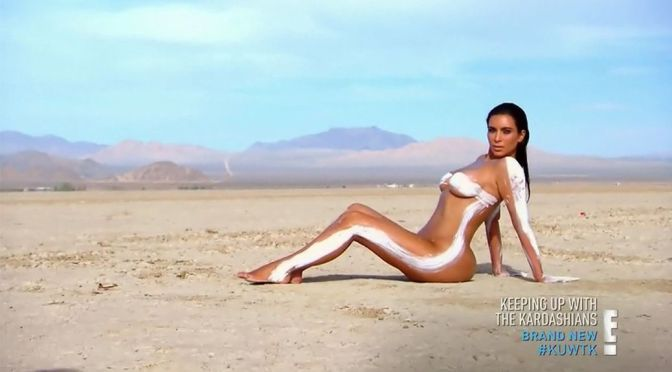 "Kim Kardashian – ""Keeping Up With The Kardashians"" Nude Caps"