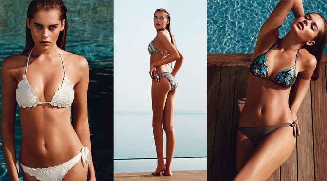 Solveig Mork Hansen – TWIN-SET Swimwear  Spring/Summer 2015