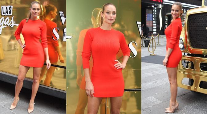 "Hannah Davis – ""A Taste of Las Vegas"" Event in New York"