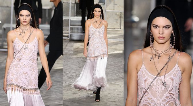 "Kendall Jenner – ""Givenchy"" Fashion Show in Paris"