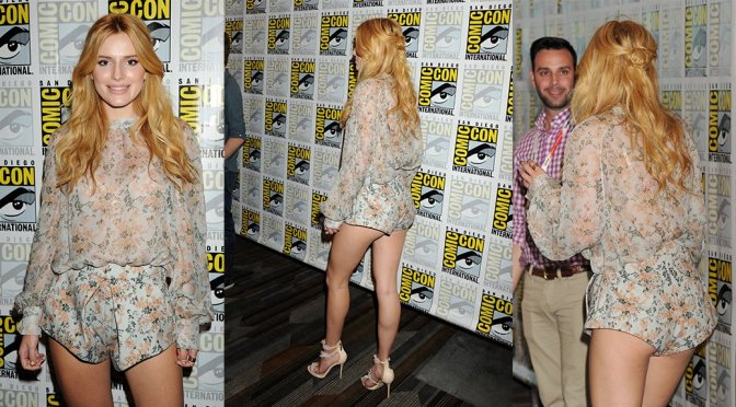 Bella Thorne at Comic Con in San Diego