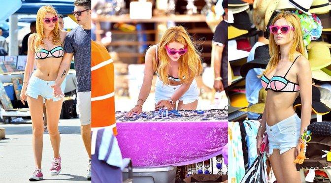 Bella Thorne – Candids in Venice Beach