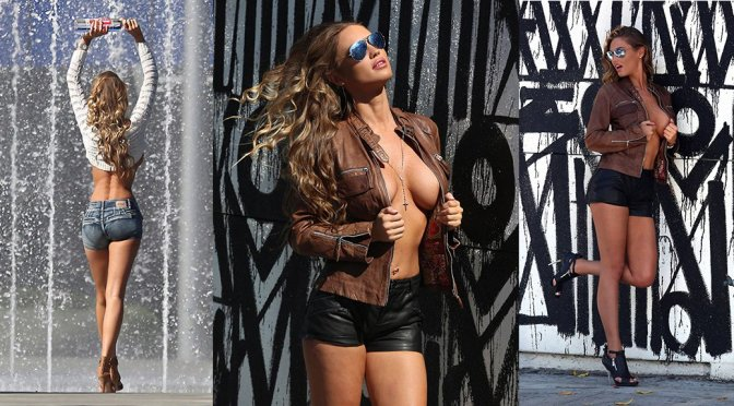 "Charlie Riina – ""138 Water"" Topless Photoshoot (NSFW)"