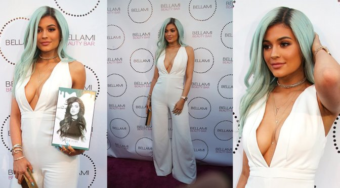 Kylie Jenner – Bellami Beauty Bar Launch in West Hollywood
