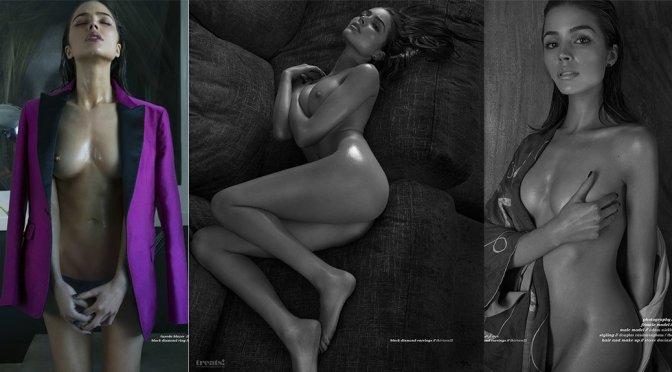 Olivia Culpo – Treats Magazine Topless Photoshoot (Issue #9) (NSFW)