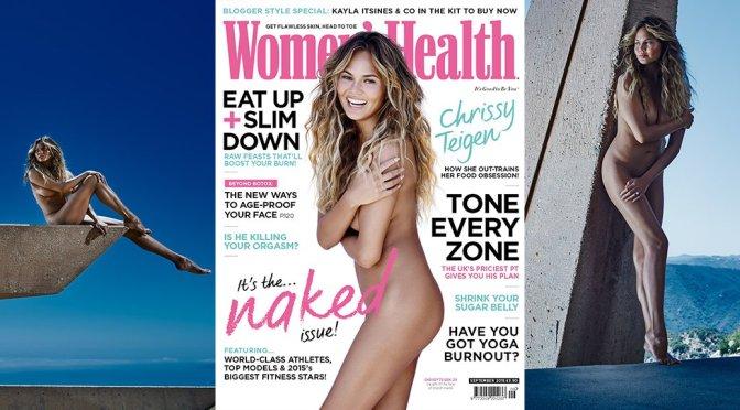 Chrissy Teigen – Women's Health Magazine (September 2015)