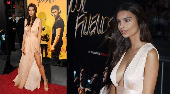 """Emily Ratajkowski – """"We Are Your Friends"""" Premiere in Hollywood"""