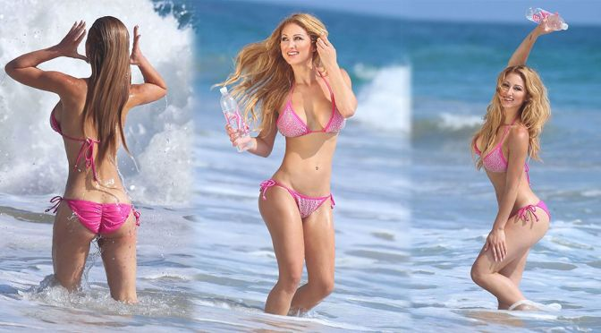 "Jessica Melody – ""138 Water"" Bikini Photoshoot in Malibu"