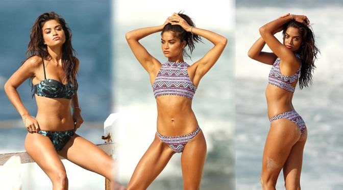 "Shanina Shaik – ""KOOKAI"" Bikini Photoshoot Candids in New South Wales"