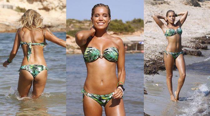 Sylvie Meis – Bikini Photoshoot Candids in Ibiza
