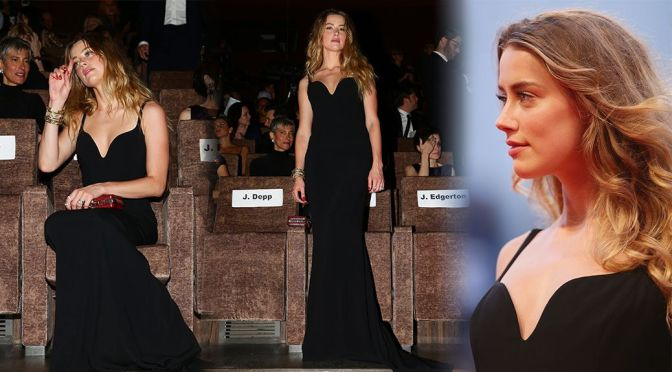 "Amber Heard – ""Black Mass"" Premiere in Venice"