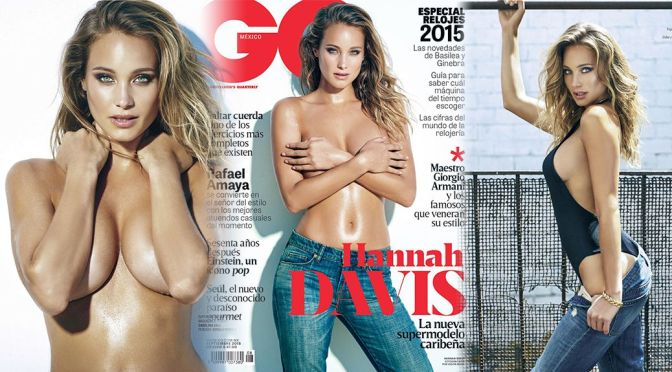 Hannah Davis – GQ Mexico Magazine (September 2015)