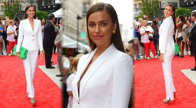"Irina Shayk – ""Porcelanosa"" Flagship Showroom Grand Opening"