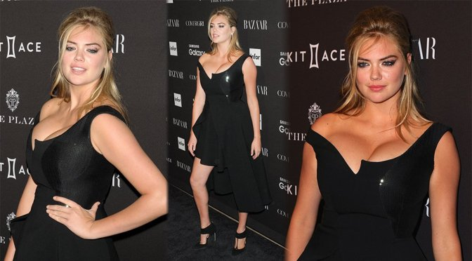 Kate Upton – 2015 Harper's BAZAAR ICONS Event in New York