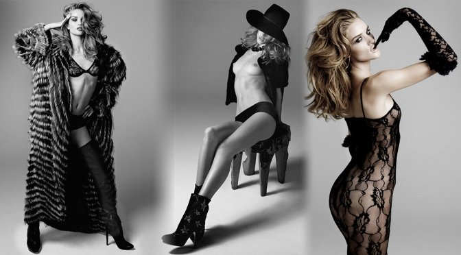 Rosie Huntington-Whiteley – DT Magazine Topless Photoshoot (NSFW)
