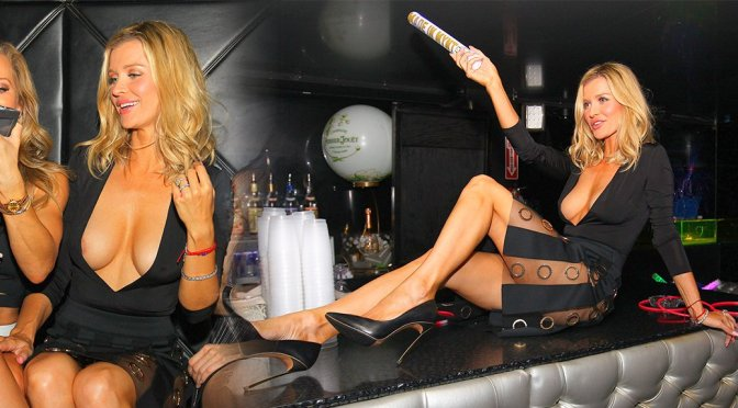 Joanna Krupa – Nipslip Candids in Miami