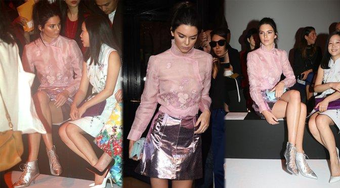 Kendall Jenner - Shiatzy Chen Fashion Show in Paris
