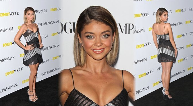 Sarah Hyland – Teen Vogue's 13th Annual Young Hollywood Issue Launch Party