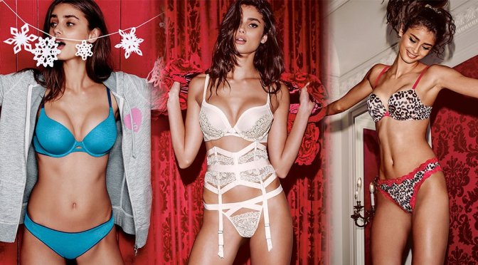 Taylor Marie Hill – Victoria's Secret Lingerie Photoshoot