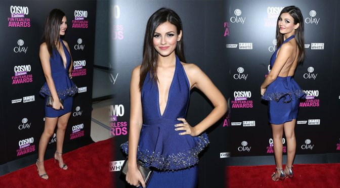 Victoria Justice - 2015 Fun, Fearless Latina Awards in New York