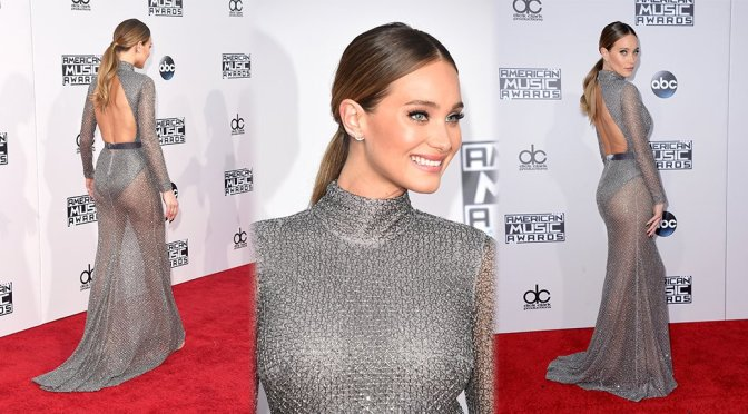 Hannah Davis – 2015 American Music Awards