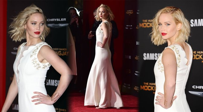 "Jennifer Lawrence – ""The Hunger Games: Mockingjay Part 2"" Premiere in Los Angeles"