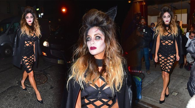 Nicole Scherzinger - Heidi Klum Halloween Party