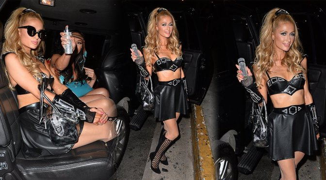 Paris Hilton – Bootsy Bellows Halloween Party