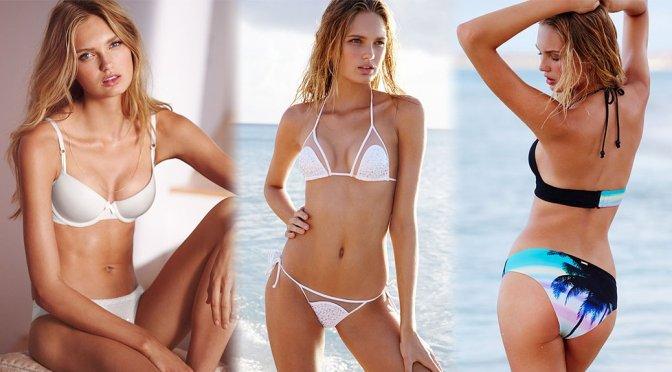Romee Strijd - Victoria's Secret Bikini & Lingerie Photoshoot