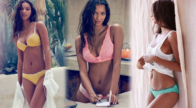 Lais Ribeiro – Victoria's Secret Lingerie Photoshoot