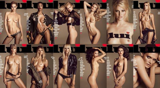 Various Models - Lui Magazine (December 2015) (NSFW)