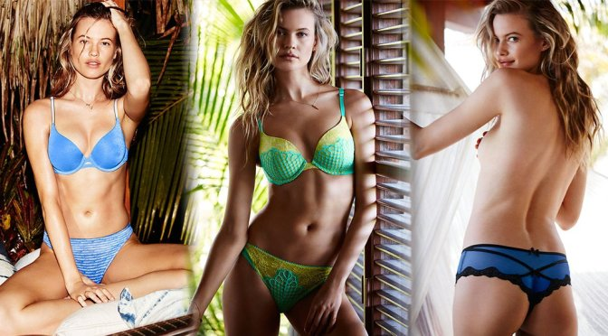 Behati Prinsloo – Victoria's Secret Bikini & Lingerie Photoshoot