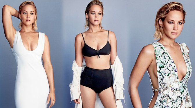 Jennifer Lawrence – Glamour Magazine Photoshoot (February 2016)