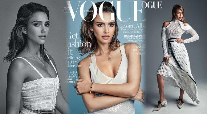 Jessica Alba – Vogue Australia Magazine (February 2016)