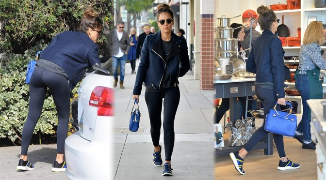 Jessica Alba – Candids in West Hollywood