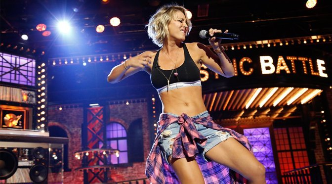 "Kaley Cuoco on ""Lip Sync Battle"""