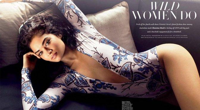 Shanina Shaik – Ocean Drive Magazine (February 2016)
