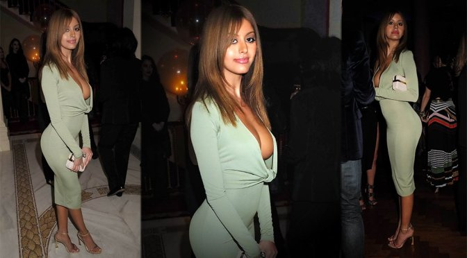 Zahia Dehar – Lisa Tchenguiz's 51st Birthday Party in London