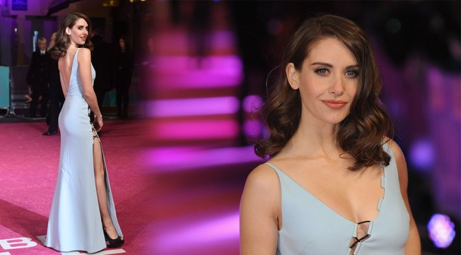 """Alison Brie – """"How To Be Single"""" Premiere in London"""