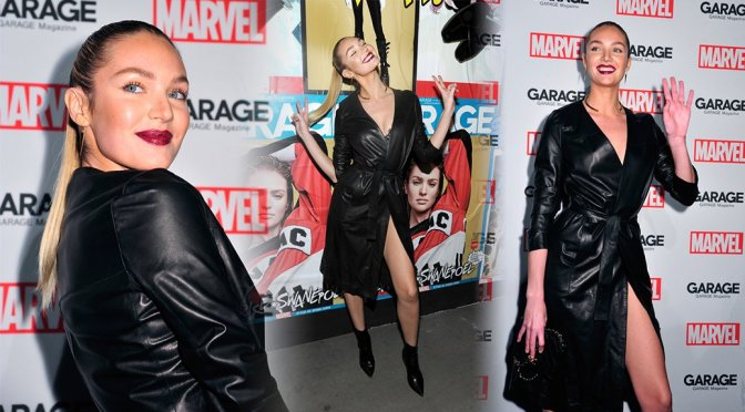 Candice Swanepoel – Marvel and Garage Magazine New York Fashion Week Event
