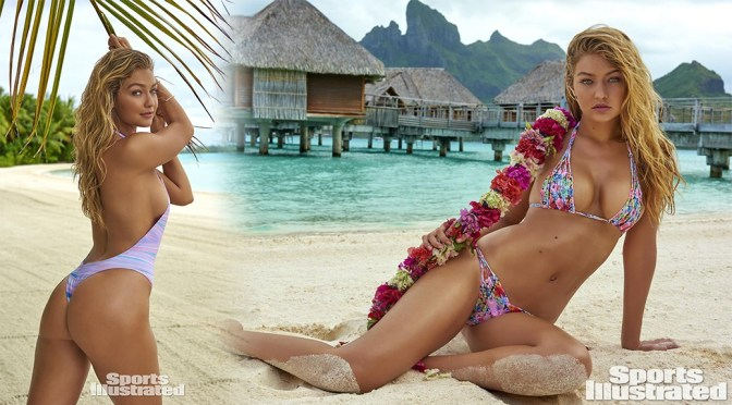 Gigi Hadid – Sports Illustrated Swimsuit Issue 2016