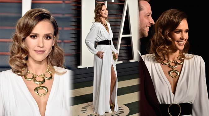 Jessica Alba – 2016 Vanity Fair Oscar Party in Beverly Hills