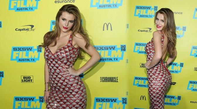 """Bella Thorne – """"Shovel Buddies"""" Premiere in Austin"""