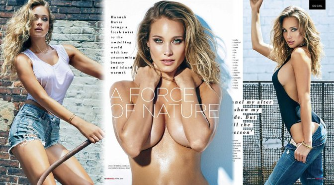 Hannah Davis – GQ South Africa Magazine (April 2016)