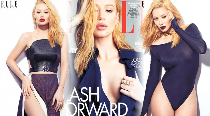 Iggy Azalea – ELLE Canada Magazine Photoshoot (April 2016)