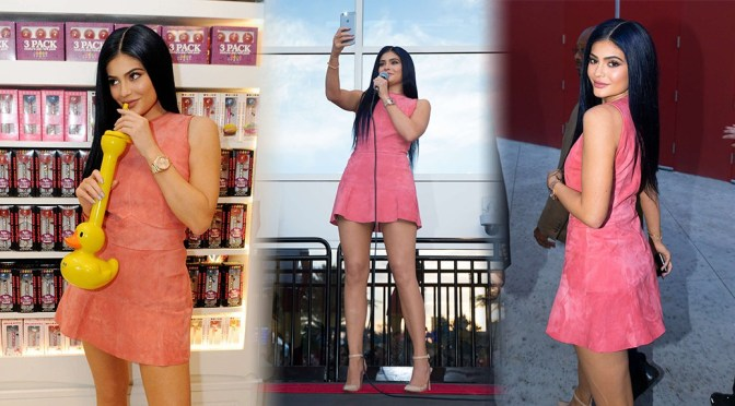 Kylie Jenner – The Sugar Factory Opening in Orlando