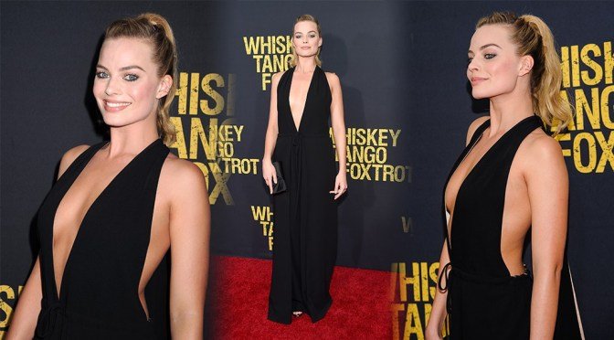 "Margot Robbie – ""Whiskey Tango Foxtrot"" Premiere in New York"