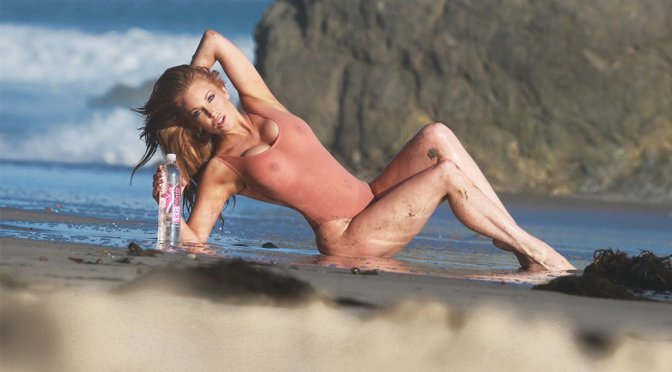 "Angelica Bridges – ""138 Water"" Bikini Photoshoot in Malibu"